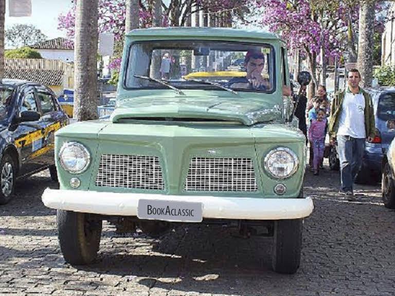 Ford Willys F-75 Hire Conselheiro Lafaiete